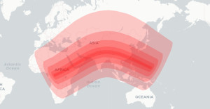 Path of the June's 2020 Solar Eclipse